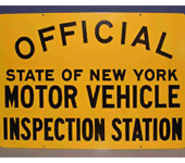 Official State of New York Inspection Station